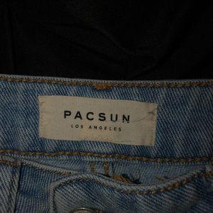 PacSun Skirts - PacSun button up jean skirt